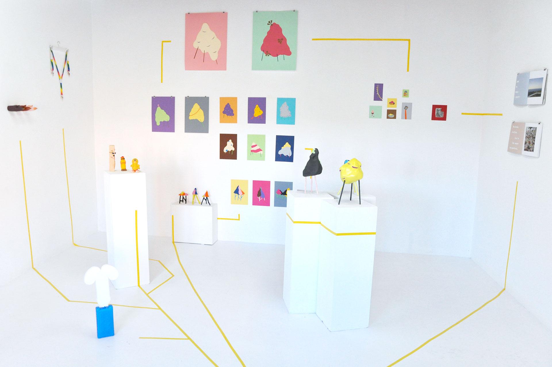 Chloé Piot Open Studio Addaya