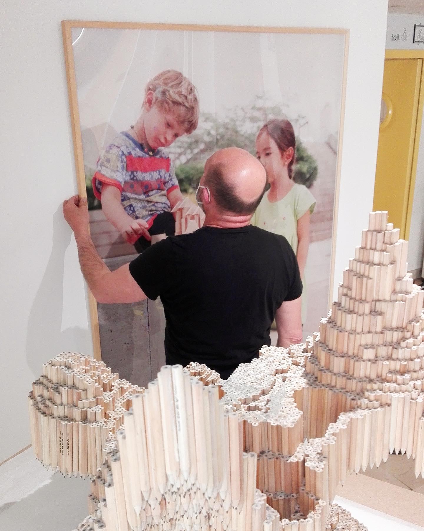 Exhibition Utopie, 2021, L'aNGLE, Cité scolaire Arsène d'Arsonval, Brive, France, FRAC-Artothèque Nouvelle-Aquitaine - Chloé Piot